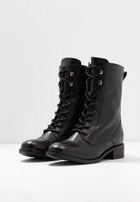 KIOMI - Botines con cordones - black - 4