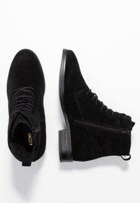 KIOMI - Šněrovací kotníkové boty - black - 3