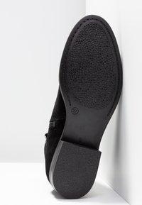 KIOMI - Šněrovací kotníkové boty - black - 6