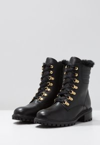 KIOMI - Lace-up ankle boots - black - 4