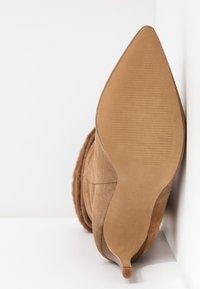 KIOMI - High heeled boots - beige - 6