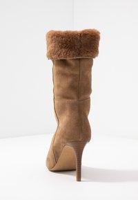 KIOMI - High heeled boots - beige - 5