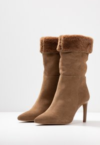 KIOMI - High heeled boots - beige - 4