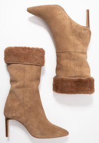 KIOMI - High heeled boots - beige - 3
