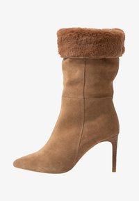 KIOMI - High heeled boots - beige - 1