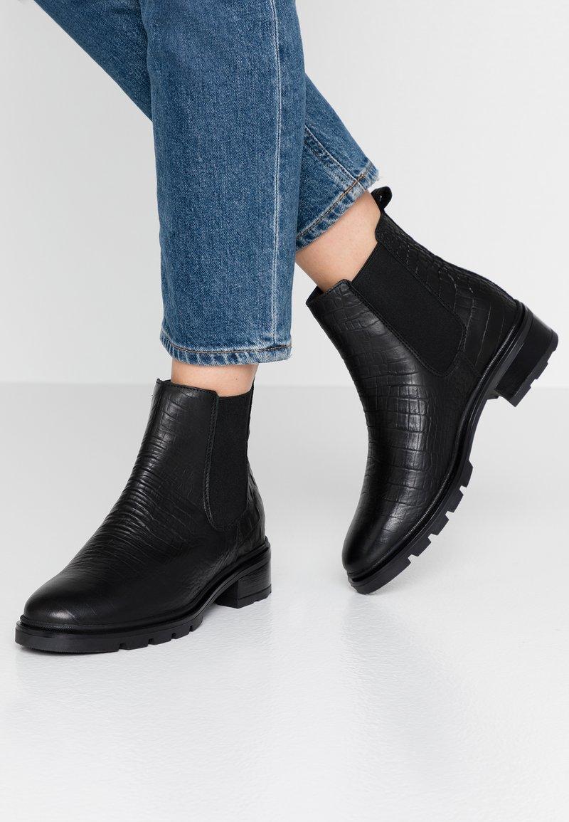 KIOMI - Vinterstøvler - black