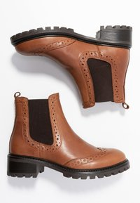 KIOMI - Winter boots - cognac - 3