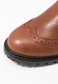 KIOMI - Winter boots - cognac - 2