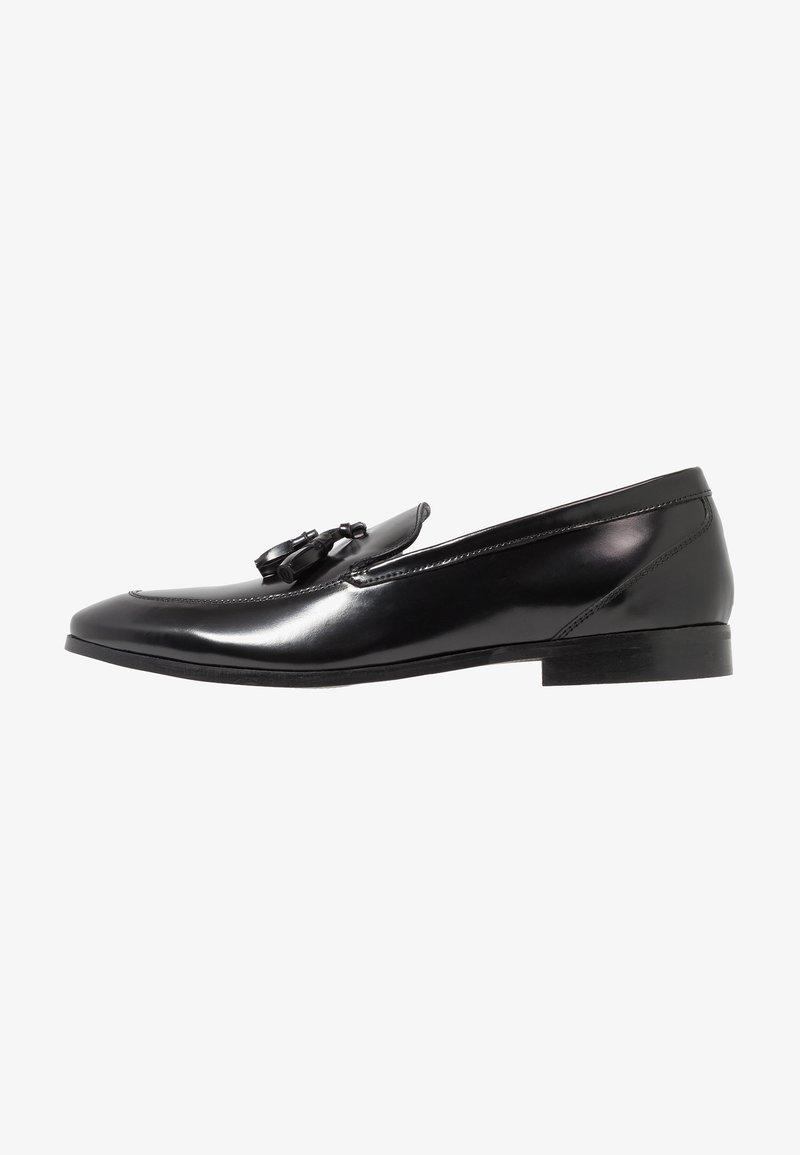 KIOMI - Elegantní nazouvací boty - black
