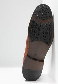 KIOMI - Kotníkové boty - cognac - 4