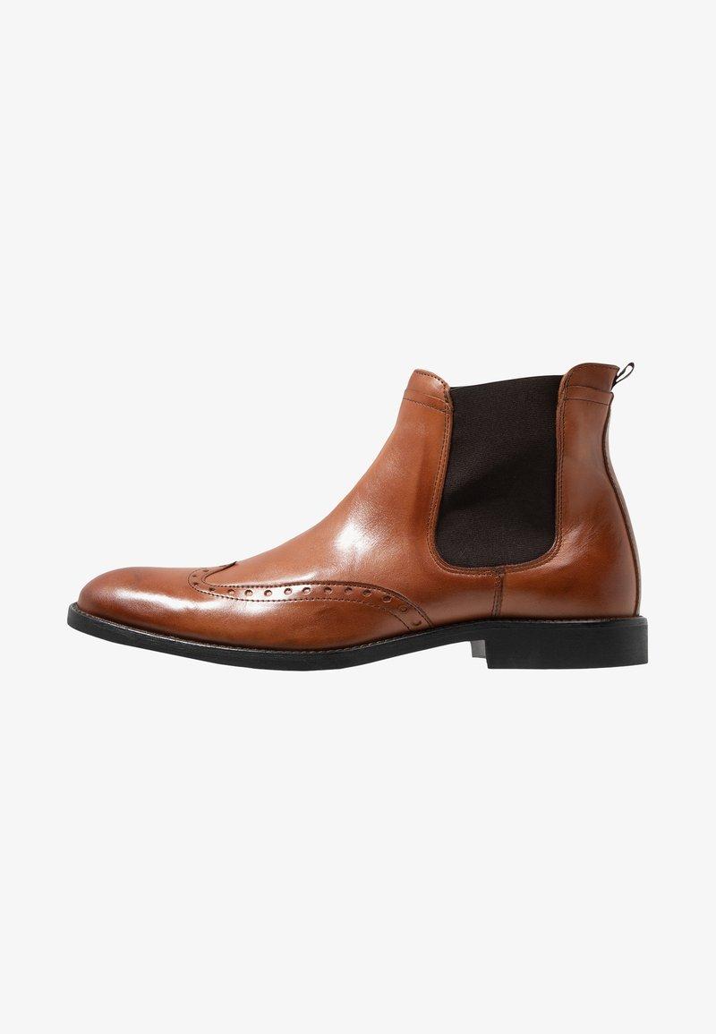KIOMI - Kotníkové boty - cognac