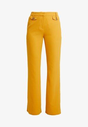 Pantalon classique - dark yellow