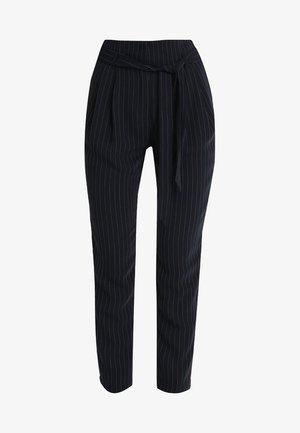 Kalhoty - dark blue/white