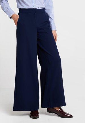 Spodnie materiałowe - maritime blue