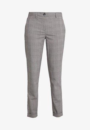 Trousers - black/white