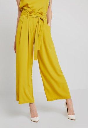 Pantalon classique - antique moss