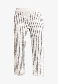KIOMI - Trousers - beige/black - 3
