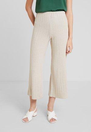 Kalhoty - sand