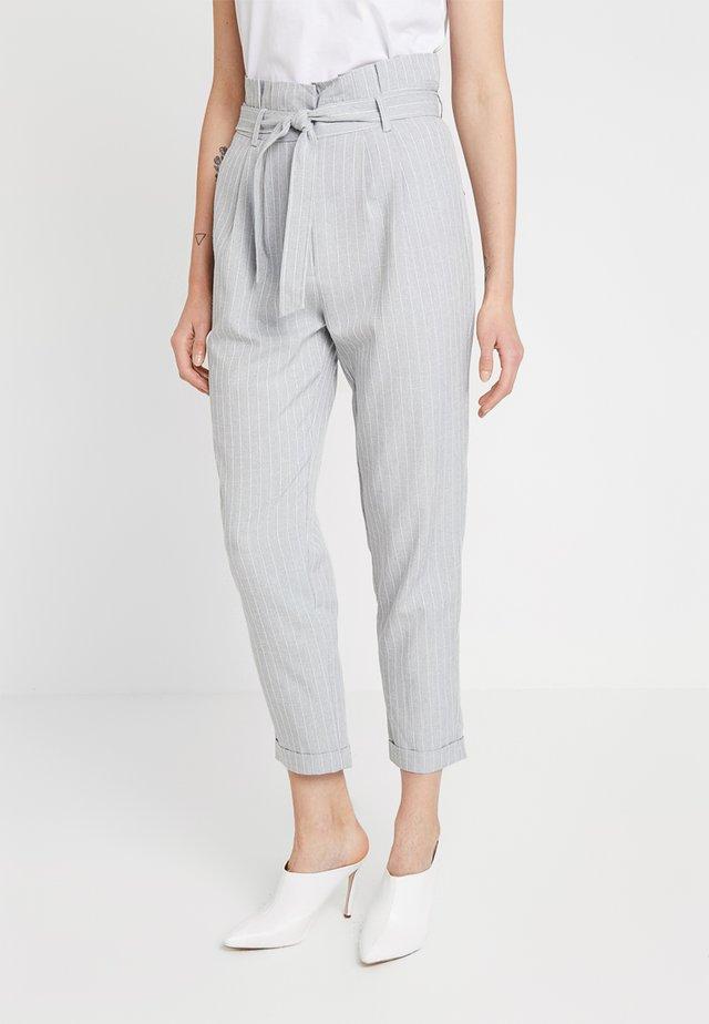 Stoffhose - white/grey
