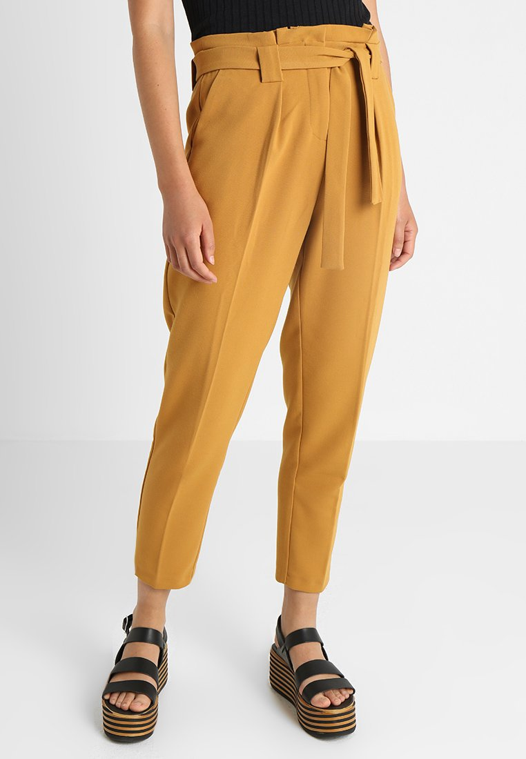 KIOMI - Trousers - mustard