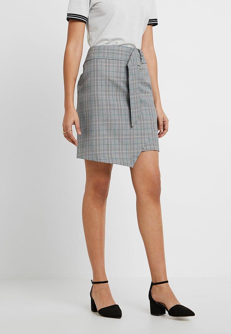 KIOMI - Wrap skirt -  grey