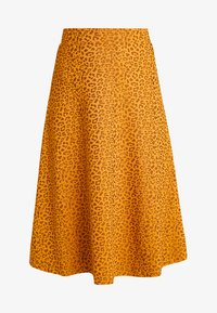 KIOMI - A-line skirt - orange/black - 3