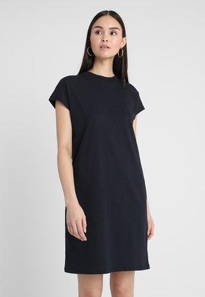 Žerzejové šaty - dark sapphire