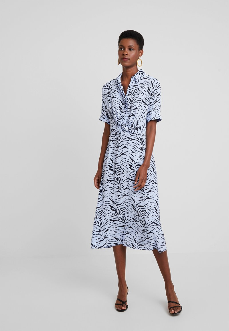KIOMI - Shirt dress - light blue/dark blue