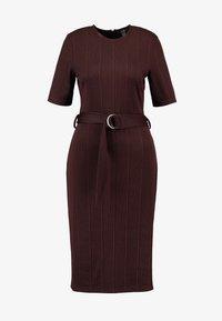 KIOMI - Jersey dress - chocolate plum - 4