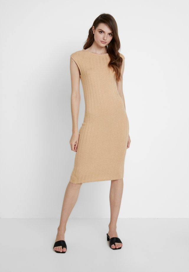 Shift dress - sand