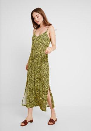 Maxi šaty - olive night