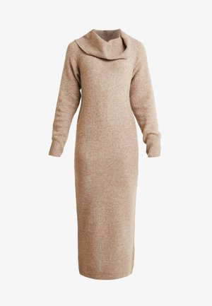 Robe longue - taupe