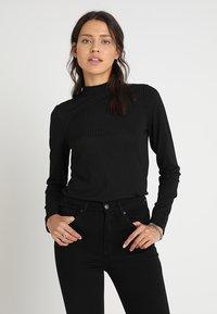 KIOMI - Long sleeved top - black - 0