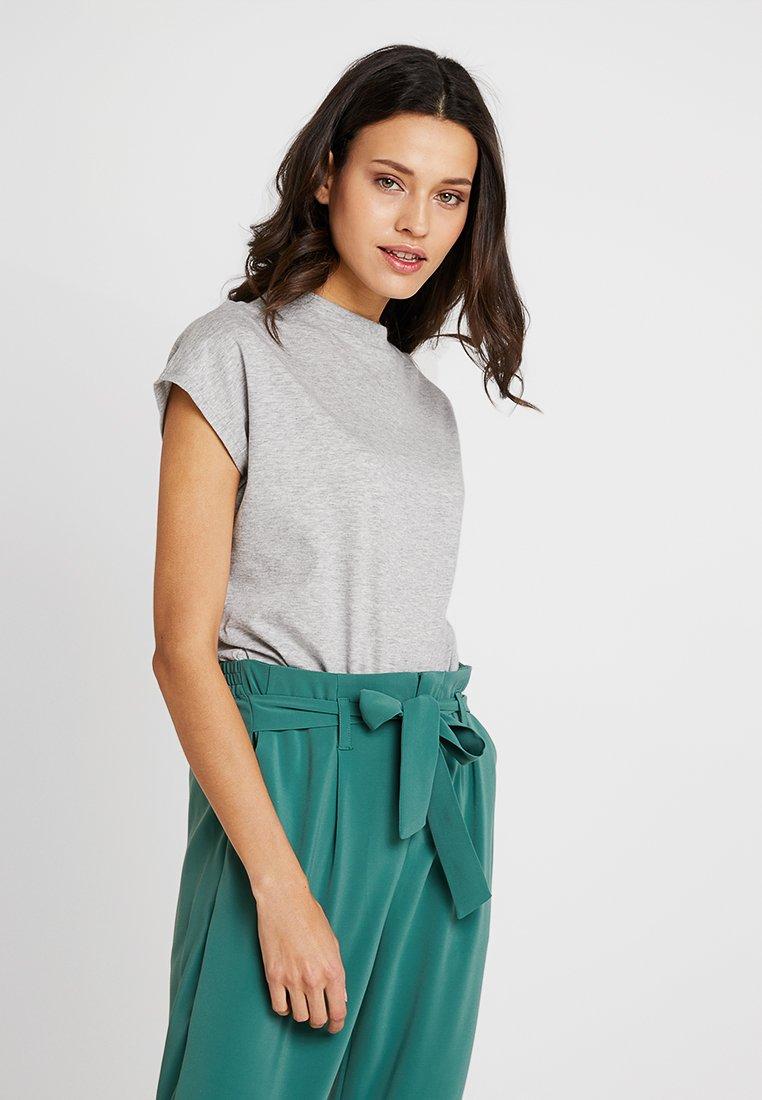 KIOMI - T-shirt basique - mottled light grey
