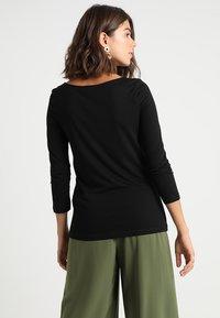 KIOMI - Long sleeved top - black - 2