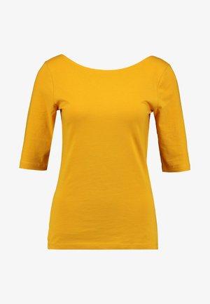 T-shirt print - mustard yellow