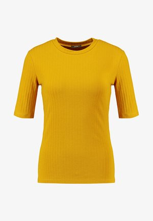 T-shirt basic - dark yellow