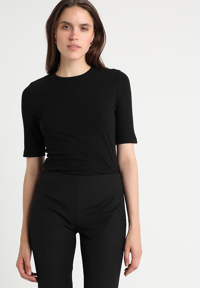 Black Basic Kiomi T Basic Kiomi Basic Kiomi Black T T shirt shirt shirt NwX08OnPk