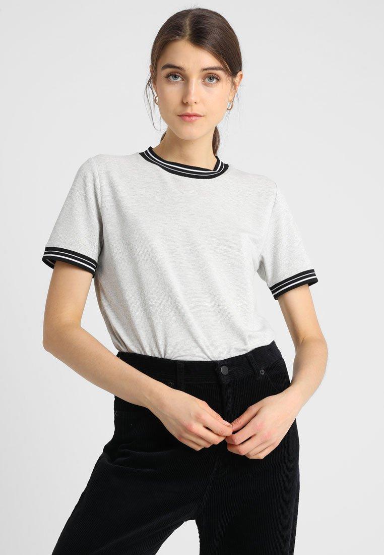KIOMI - T-shirts print - mid grey melange