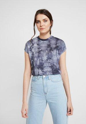 TIE DYE - T-shirt med print - light grey