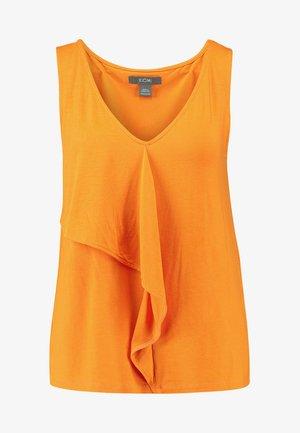 Top - russet orange