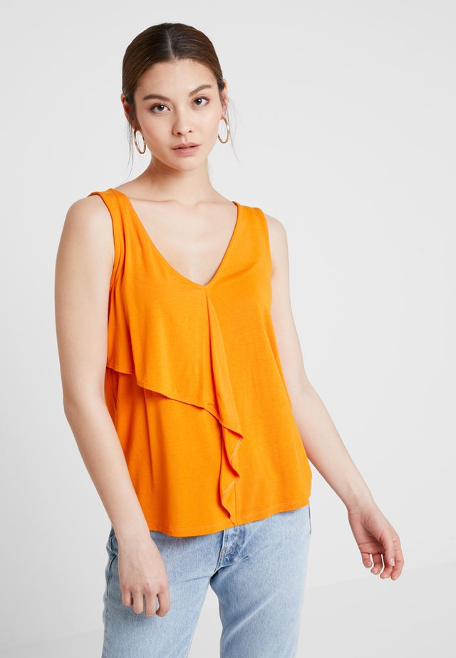Top - russet orange