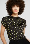 KIOMI - ABSTRACT FLORAL PRINTED - T-Shirt print - black