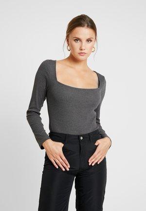 BODYSUIT - Long sleeved top - grey