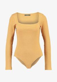 KIOMI - BODYSUIT - Bluzka z długim rękawem - light brown - 4