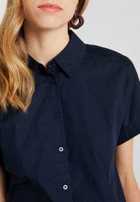 KIOMI - CROPPED BOXY  - Button-down blouse - sky captain - 5