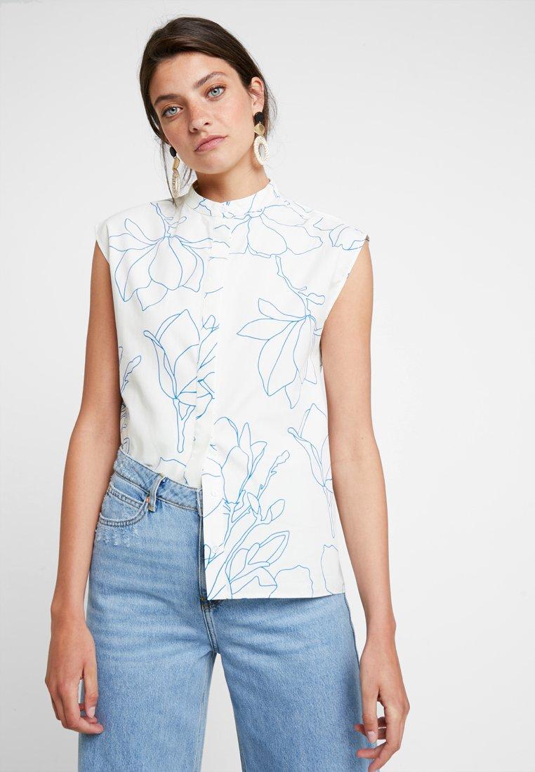 KIOMI - Button-down blouse - white