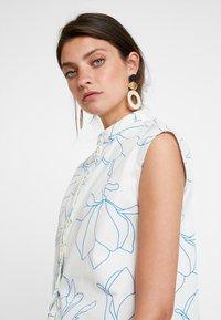 KIOMI - Button-down blouse - white - 3