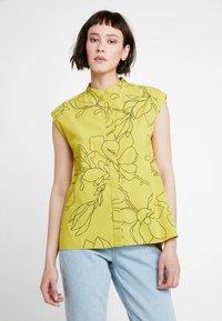 KIOMI - Button-down blouse - yellow - 0