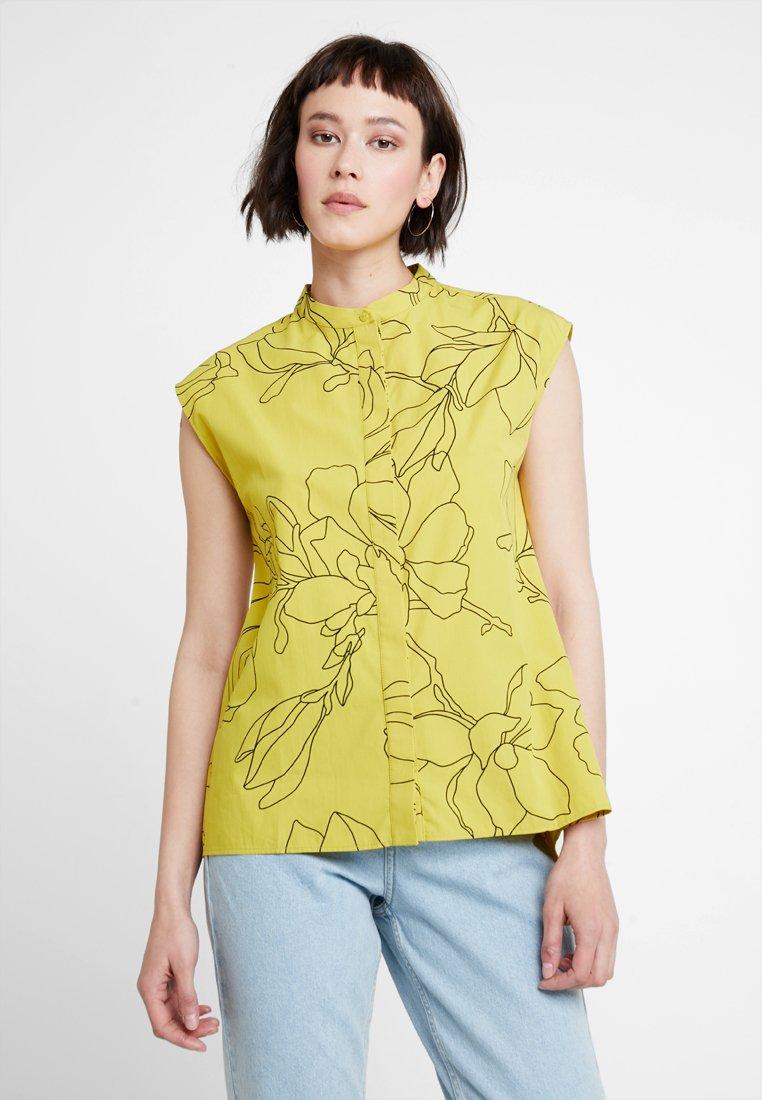 KIOMI - Button-down blouse - yellow